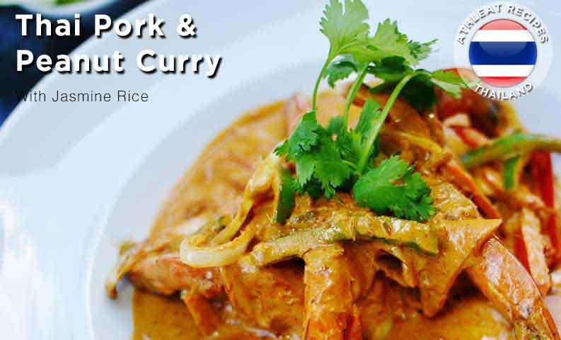 Thai Pork and Peanut Curry