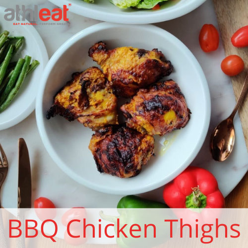 BBQ Free range chicken thighs