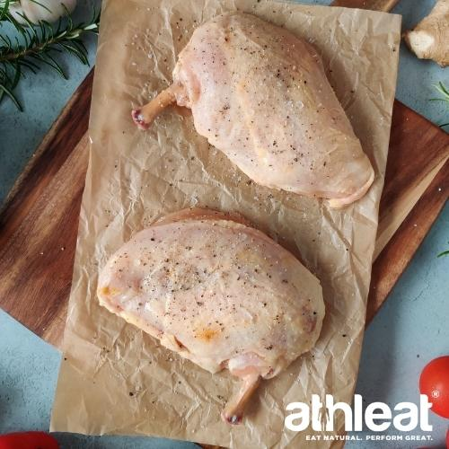 Free Range chicken supreme corn fed by Athleat