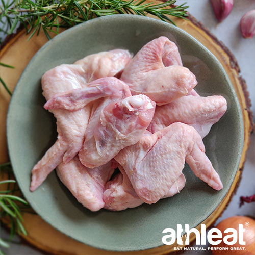 Free Range Chicken Wings by Athleat