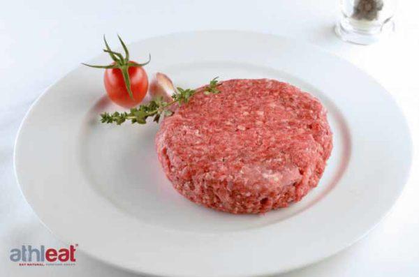 Grass Fed Beef Steak Burger