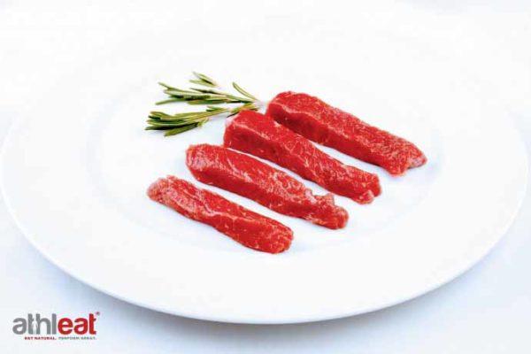 Grass Fed Beef Steak Stir Fry Strips