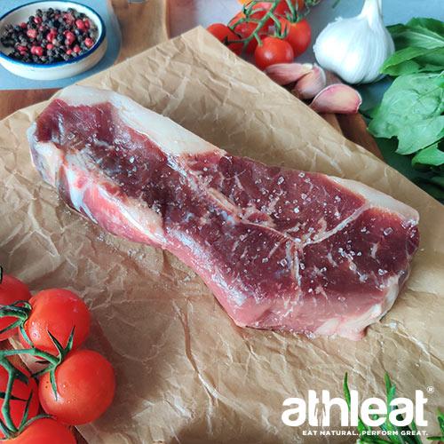 Grass fed beef rump steak