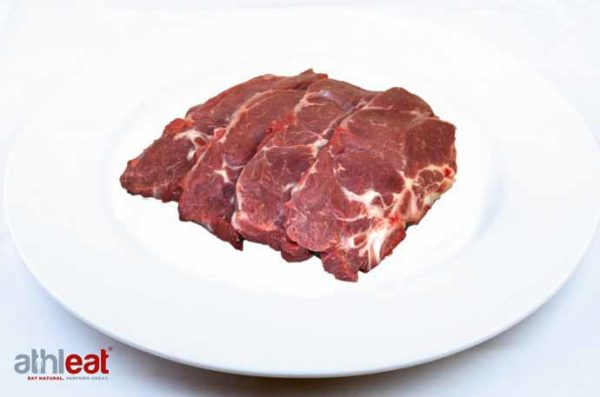 Outdoor Bred Pork Spare Rib (Collar) Steak