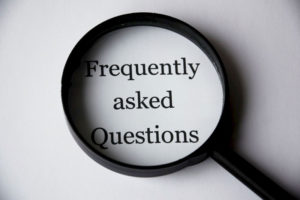 FAQs in a magnifying glass