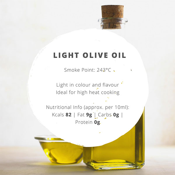 light olive oil facts