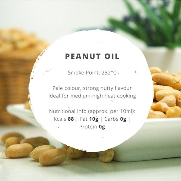 peanut oil facts