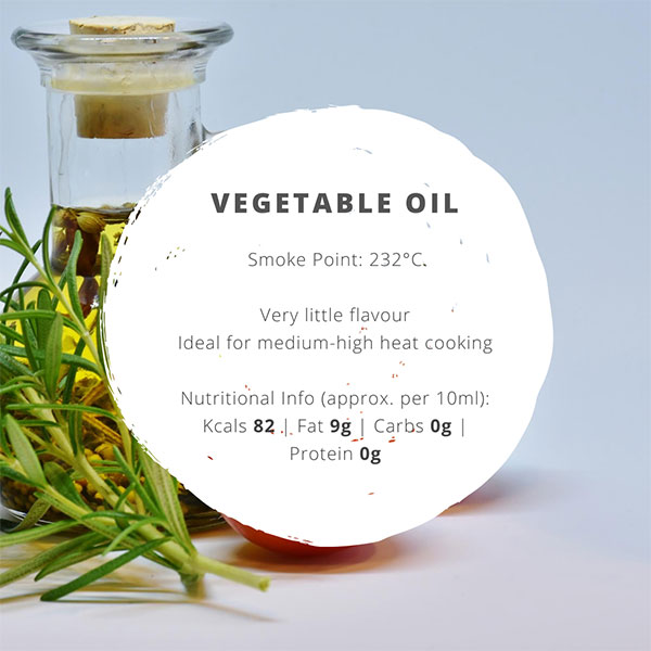 vegetable oil facts