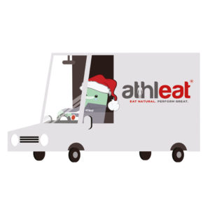 Athleat Book a Christmas delivery slot