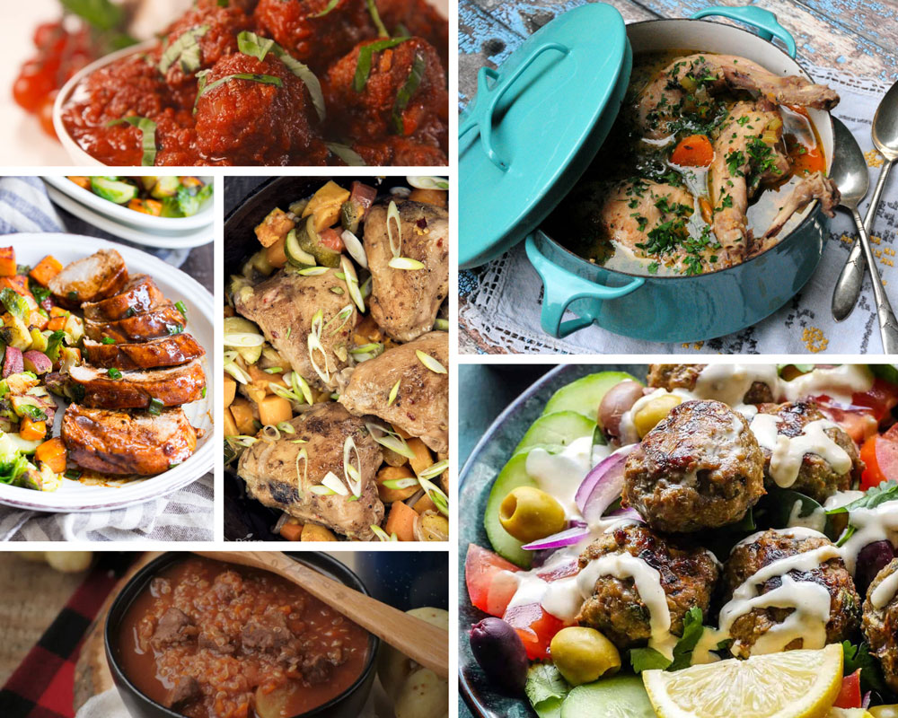 paleo recipes collage