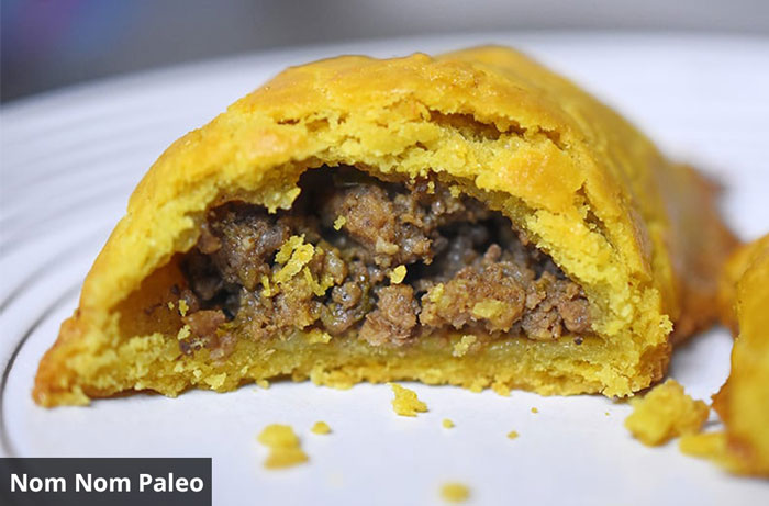 curried meat paleo pies