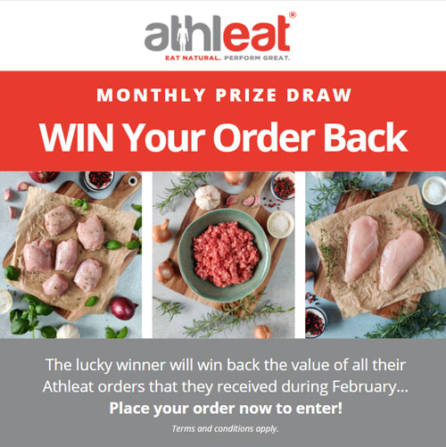 february monthly prize draw
