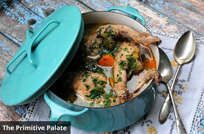 paleo wild rabbit stew