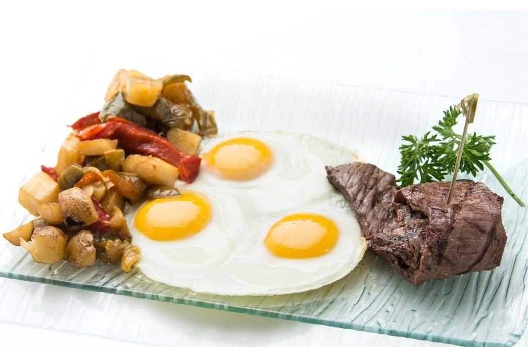 steak for breakfast